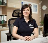 Renata Klepáčková, vedoucí prodeje - Sales Manager