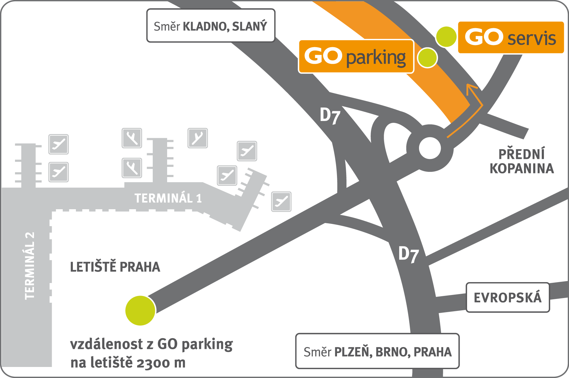 mapka - GO parking